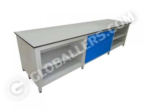 H-Frame System Wall Bench 02