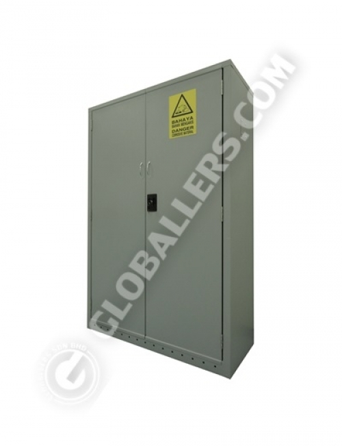 Alkaline-Corrosive Chemical Storage Cabinet 01