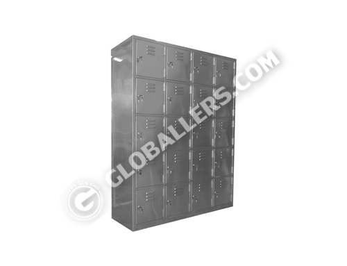 Stainless Steel Shoe Cabinet 05