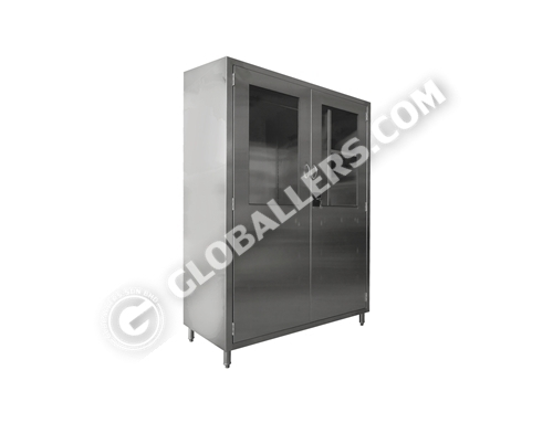 Stainless Steel Full Height Cabinet 09