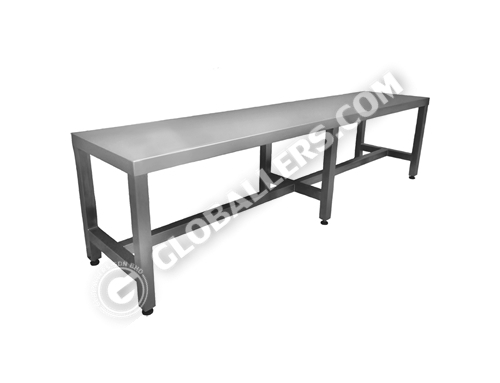 Stainless Steel Cross Bench 01