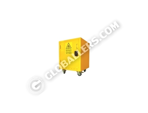 Mobile Flammable Chemical Storage Cabinet 09