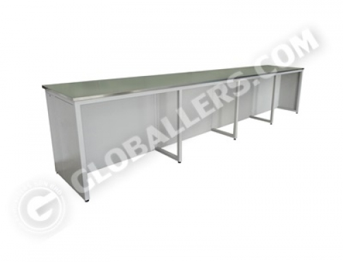 H-Frame System Wall Bench 07