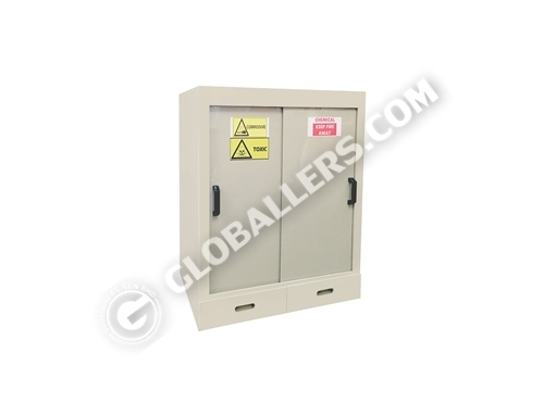 Polypropylene (PP) Acid-Corrosive Chemical Storage Cabinet 01