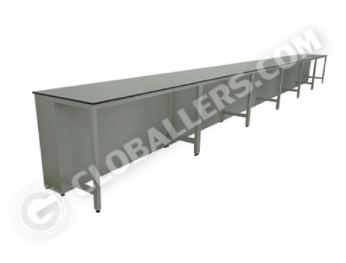 H-Frame System Wall Bench 08