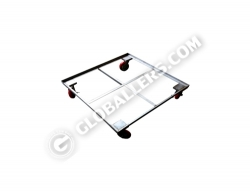 Stainless Steel Mobile Trolley 06