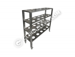 Mobile Stainless Steel Drying Rack 02