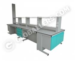 I-Frame System Island Bench 06