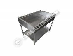 Stainless Steel Big Sink Table 04