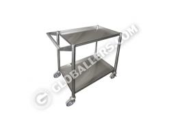 Stainless Steel Mobile Trolley 02