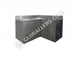 Stainless Steel Table with Sink 05
