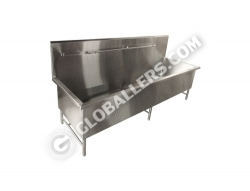Stainless Steel Big Deep Sink Table 10