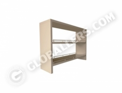 Bench Mount Reagent Shelves 01