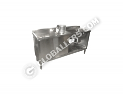 Stainless Steel Medical Plaster Sink 02