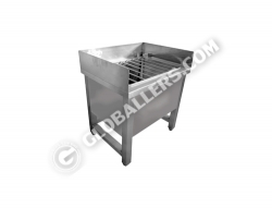 Stainless Steel Mop Sink 02