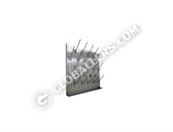 Stainless Steel Drying Pegboard 01