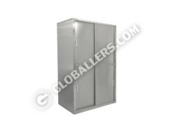 Stainless Steel Full Height Cabinet 10