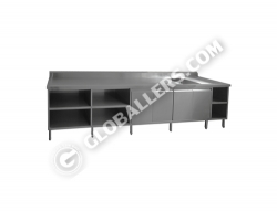Stainless Steel Table with Sink 03