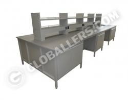 H-Frame System Island Bench 03