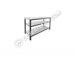 Stainless Steel Open Rack 07