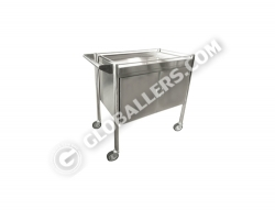 Stainless Steel Mobile Cabinet Trolley 07