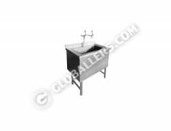 Stainless Steel Sink Cabinet 01