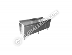 Stainless Steel Table with Sink 06