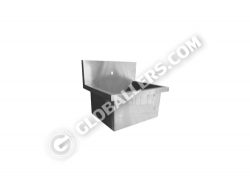 Stainless Steel Wall Sink 08