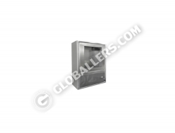 Stainless Steel Wall Mount Cabinet 08