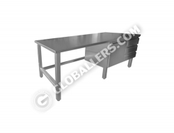 Stainless Steel Table 01