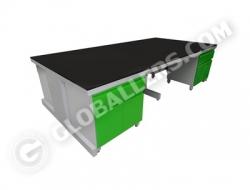 I-Frame System Island Bench 03