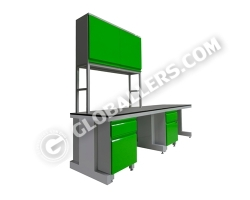 C-Frame System Wall Bench 13