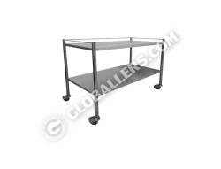 Stainless Steel Mobile Trolley 03
