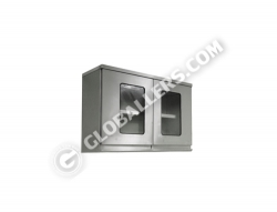 Stainless Steel Overhead Hanging Cabinet 07