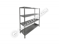 Stainless Steel Open Rack 01