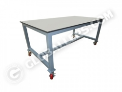 H-Frame System Wall Bench 13