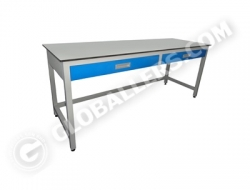H-Frame System Wall Bench 06