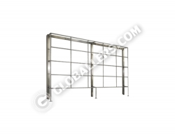 Stainless Steel Apparatus Clamping Frame Stand 11
