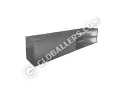 Stainless Steel Cross Bench cum Shoe Rack 05