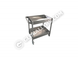 Stainless Steel Mobile Trolley 05