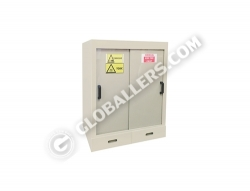 Polypropylene (PP) Acid-Corrosive Chemical Storage Cabinet 01
