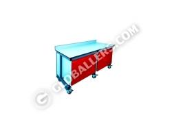 Mobile Modular Lab Bench 02