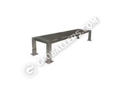 Stainless Steel Cross Bench 02