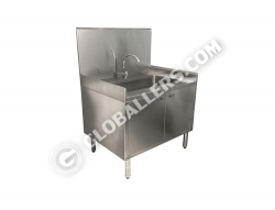 Stainless Steel Sink Cabinet 09