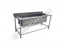 Stainless Steel Big Sink Table 02