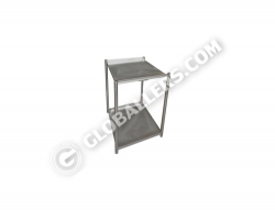 Stainless Steel Small Open Rack 04